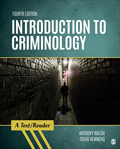 Download Introduction to Criminology: A Text/Reader (Sage Text/Reader Series in Criminology and Criminal Justice) 150639924X