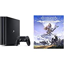 PlayStation 4 Pro ジェット・ブラック 1TB (CUH-7100BB01) + 【PS4】Horizon Zero Dawn Complete Edition セット