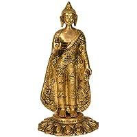 チベット仏教Standing Lord Buddha – 真鍮Statue
