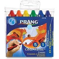 PrangカラーWands、ボックスof 6クラシックカラークレヨン,アソートカラー( 47878 ) by Prang