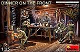ミニアート 1/35 前線で夕食を取る兵士5体入 プラモデル MA35325