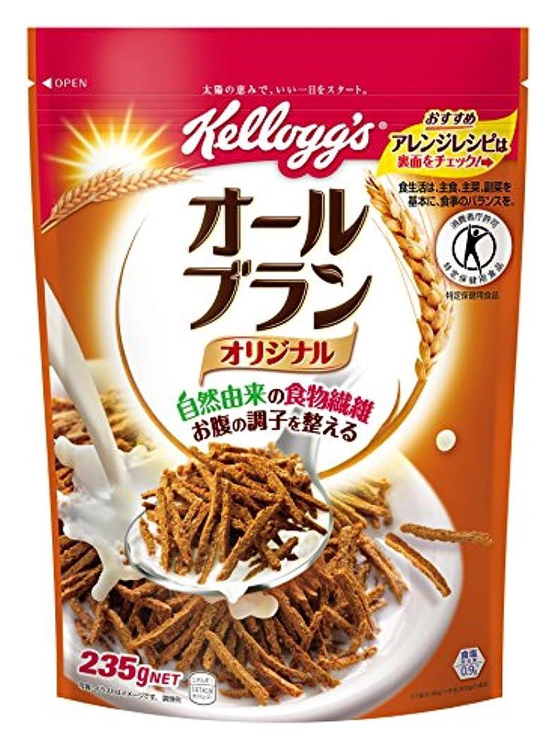 ダイエット淡い計算する[トクホ] ケロッグ オールブラン袋 235g×6袋