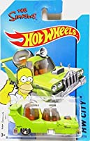 2014 Hot Wheels Hw City The Simpsons - The Homer [Ships in a Box!]