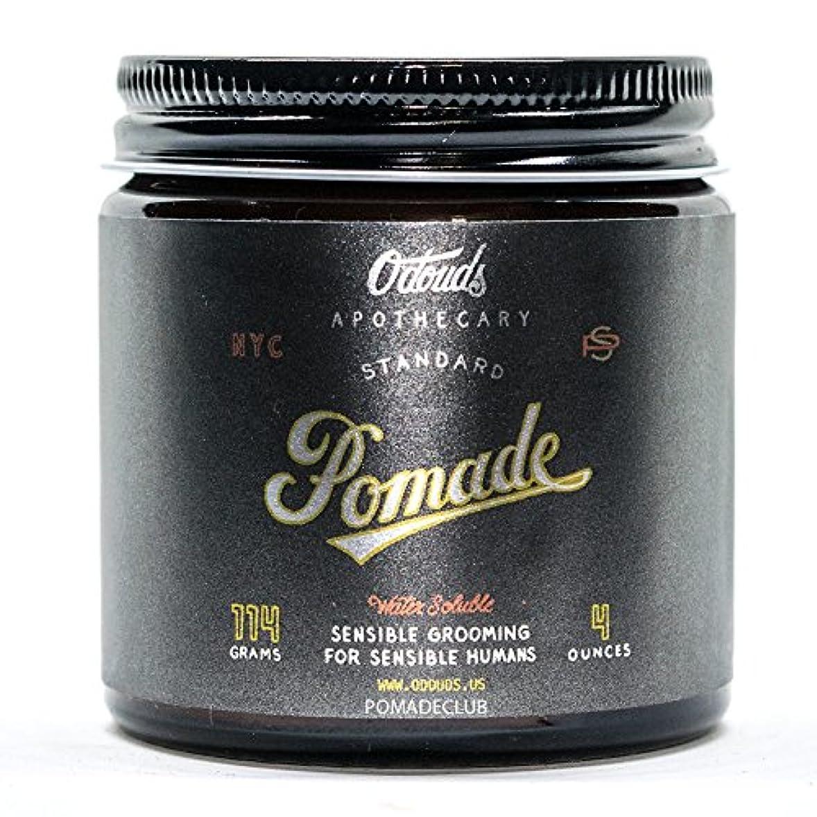 仕方サミット飲食店O'Douds (オダウズ) スタンダードポマード STANDARD POMADE メンズ 整髪料 水性 ヘアグリース クリームタイプ ツヤあり ストロングホールド