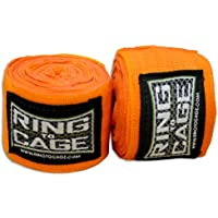 ボクシングMMA Handwraps Mexican Style stretchable-orange 180