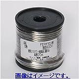 2.0sq FEPテフロン線 耐圧600V 耐熱200℃ 20m ボビン巻き 透明