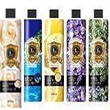 3種類アソートお得セット 加湿器用アロマ芳香剤 マリンブルー/ローズマリー/ホワイトローズの香り 300ml ラグジュランス E285931H
