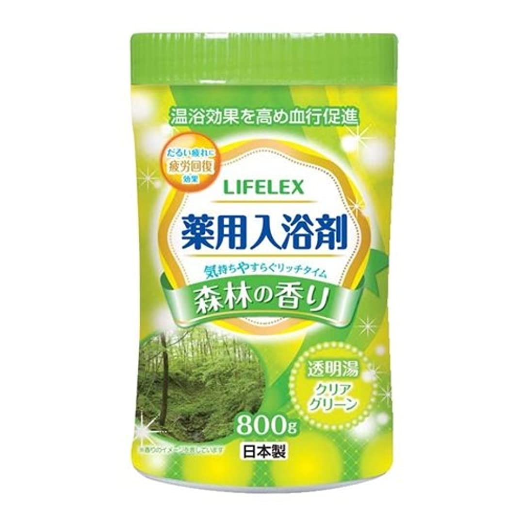 貫通する牛グレーコーナンオリジナル 薬用入浴剤 森林の香り 800g