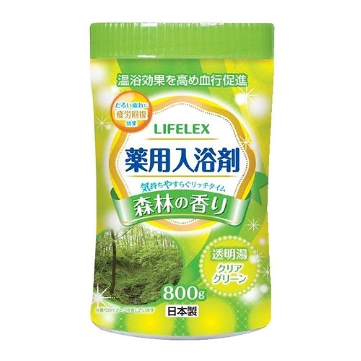 プラグ長老考えるコーナンオリジナル 薬用入浴剤 森林の香り 800g