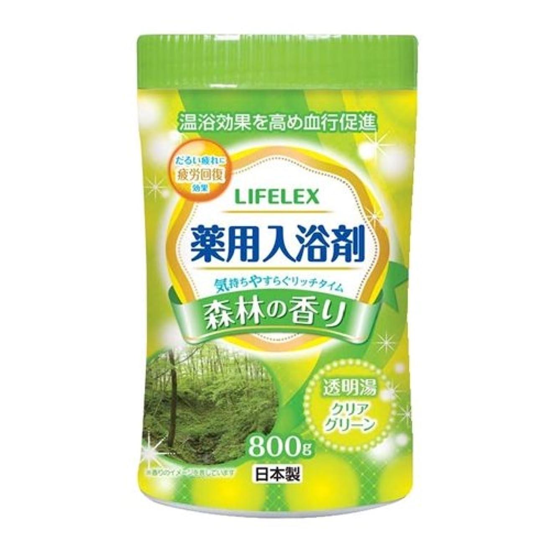 水平ノミネート繁雑コーナンオリジナル 薬用入浴剤 森林の香り 800g