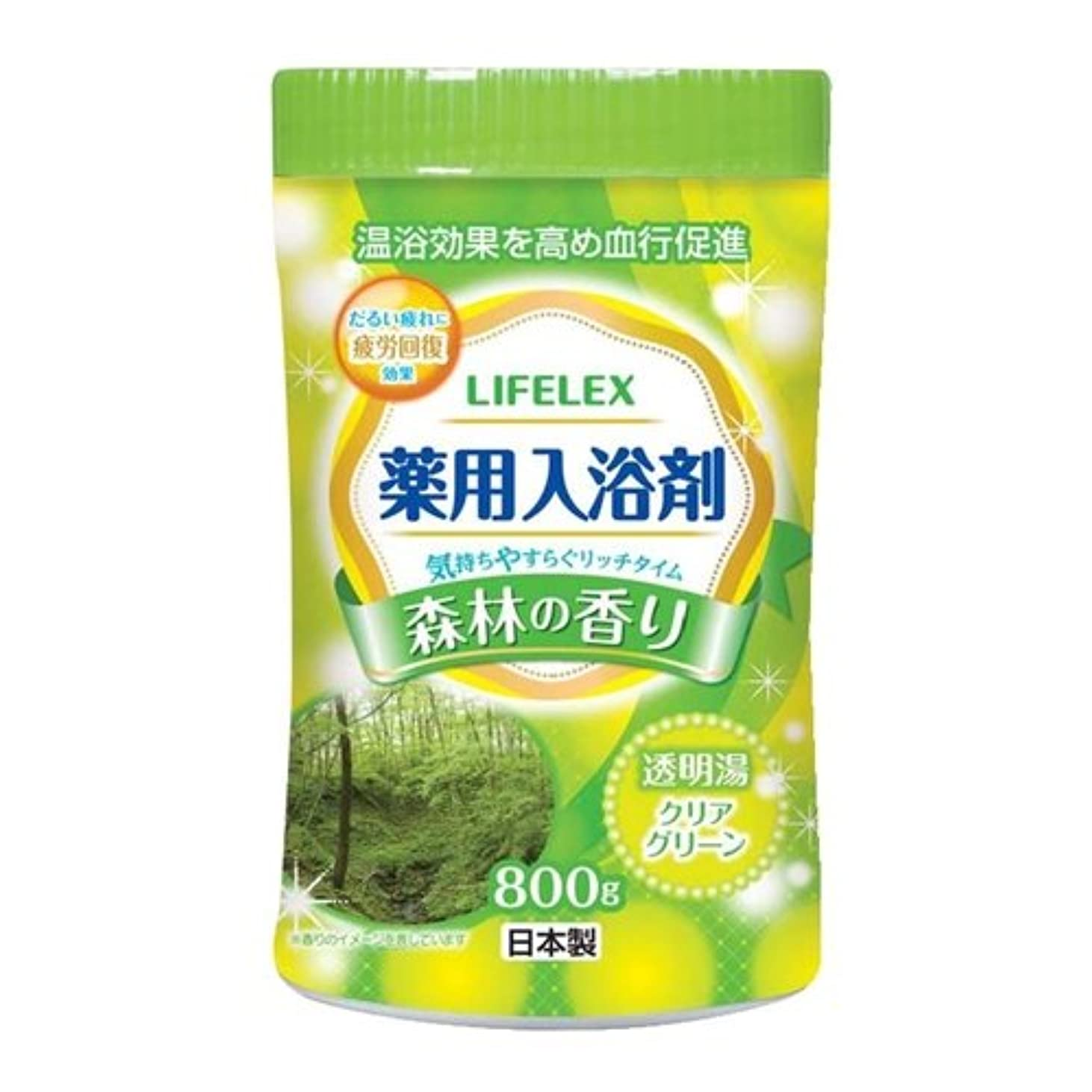 申請中要旨のヒープコーナンオリジナル 薬用入浴剤 森林の香り 800g