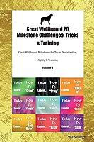 Great Wolfhound 20 Milestone Challenges: Tricks & Training Great Wolfhound Milestones for Tricks, Socialization, Agility & Training Volume 1
