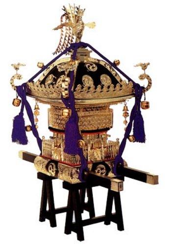 童友社 1/5 江戸神輿 黒塗紫房 プラモデル PS-1の詳細を見る