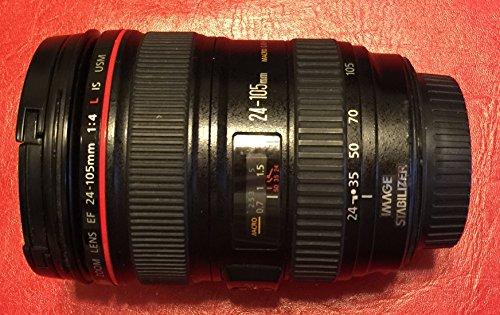 Canon EF 24???105?mm f / 4?L IS USMレンズ(ホワイトボックス) + Rndレンズアクセサリキットfor Canon 6d 5d Mark II 5d Mark III sl1?t5i t5?t4i t3i t3?60d 7