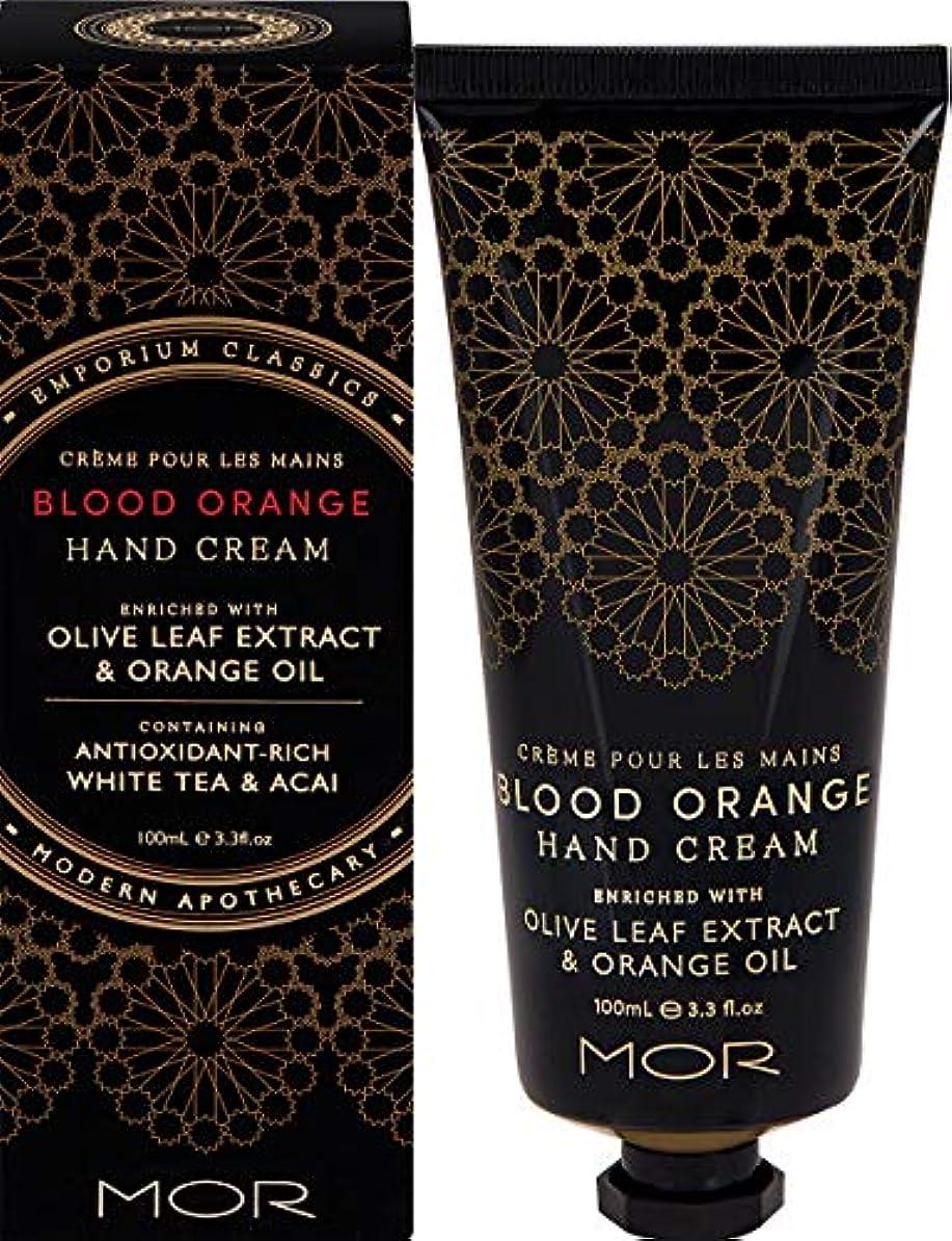 悪化する好ましい無意味MOR(モア) エンポリアムクラシックス ハンドクリーム ブラッドオレンジ 100ml