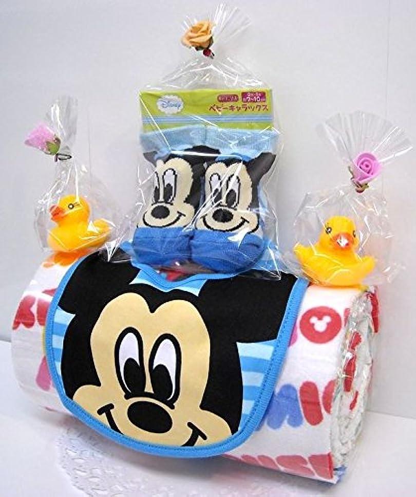 メーカーゴミ箱画家ご出産お祝い<おむつケーキ> リーズナブルなお値段のかわいいおむつケーキ ディズニーRK (男の子用ミッキー)パンパースS