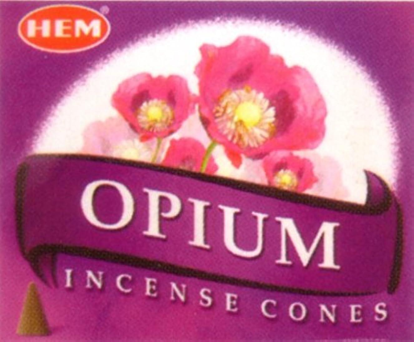 パース九月つぶすインド香コーンタイプ オピウム(HEM)