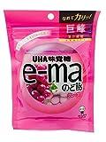 UHAピピン e-maのど飴袋グレープ 50g×6袋