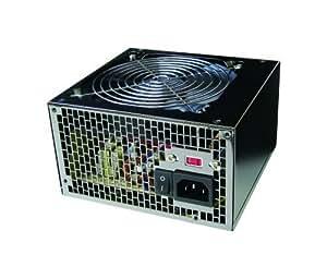 エバーグリーン 定格出力500W 超静音12cmファン搭載 PC電源 パワーグリッター(パワグリ) EG-500PG EG-525PG2