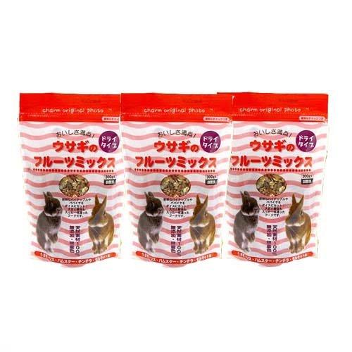 [해외]특가 세트 아라타 토끼 과일 믹스 300g 특가 3 봉지/Affordable set Arata rabbit fruit mix 300 g bargain three bags