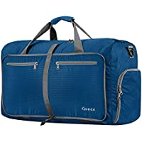 Gonex 60L Packable Travel Duffle Bag, Lightweight Water Repellent & Tear Resistant 14 Color Choices