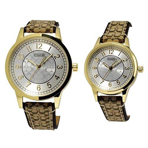 (コーチ) COACH ニュー クラシック シグネチャー ペアウオッチ腕時計 #14000043 並行輸入品