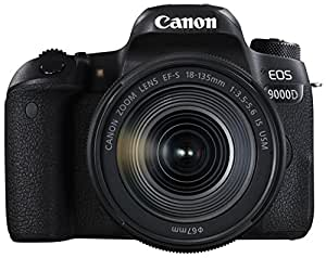 Canon デジタル一眼レフカメラ EOS 9000D レンズキット EF-S18-135mm F3.5-5.6 IS USM 付属 EOS9000D-18135ISUSMLK