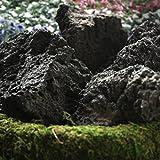 溶岩石 ブラック 50-200mm 15kg【約15-25個】
