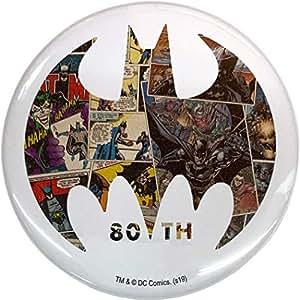 バットマン 80YEARS[缶バッジ]ビッグ カンバッジ/Bタイプ DCコミック