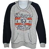 Chicago BearsレディースサイズLarge軽量フード付きスウェットシャツNFL