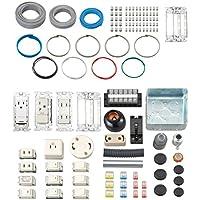 ホーザン(HOZAN) 平成30年/29年 2017/2018 第二種電気工事士技能試験練習用部材 特典DVD付 1回セット DK-15-1
