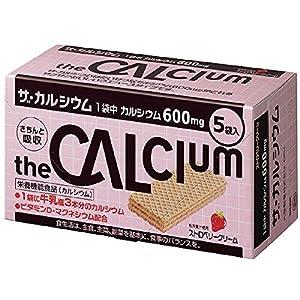 大塚製薬 ザ・カルシウム ストロベリークリーム 11.2g×5袋
