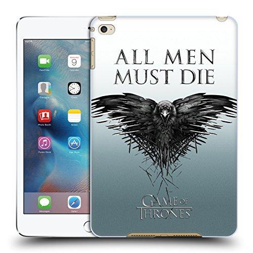 オフィシャルHBO Game Of Thrones オール・メン キー・アート ハードバックケース Apple iPad mini 4