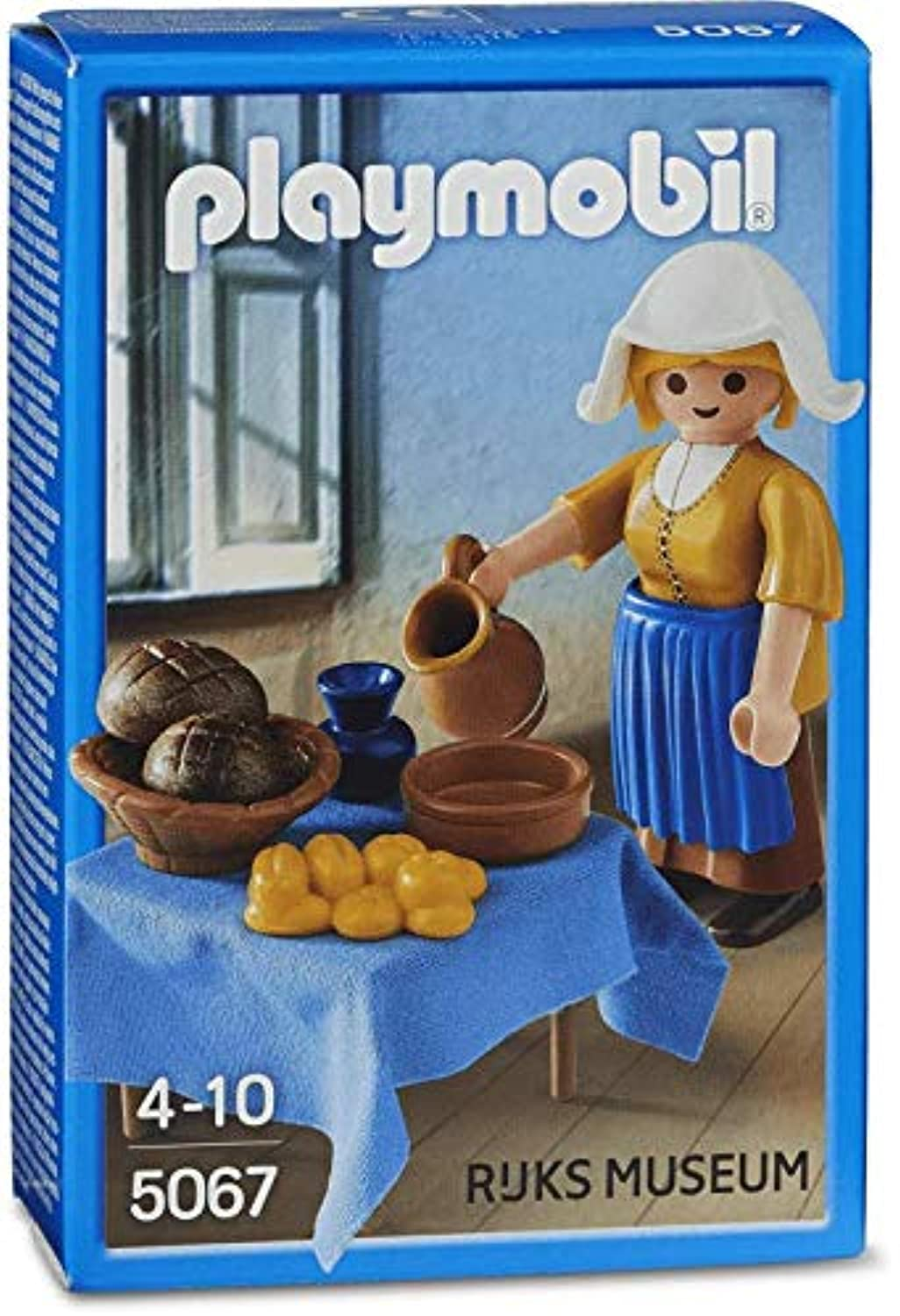 PLAYMOBIL (プレイモービル) #5067 The Milkmaid From Rijks Museum LIMITED EDITION -New-Factory Sealed!(並行輸入品)