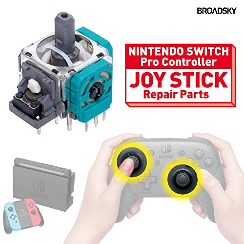 BROADSKY Nintendo SWITCH Proコントローラー ジョイスティック 交換 修理パーツ