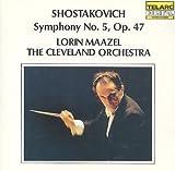 Shostakovich: Symphony No. 5, Op. 47 by Lorin Maazel (1981-05-03)