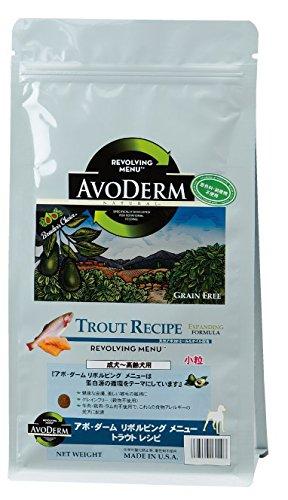 アボ・ダーム (AVODERM) リボルビングメニュー トラウトレシピ 成犬~高齢犬用 2.4kg