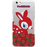 プチバビエ・クリアスマートフォンケース (iPhone6用クリアハードケース4.7インチ) (ストロベリーRD)