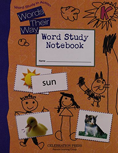 Download Words Their Way Level K Student Notebook 2005c 0765267586
