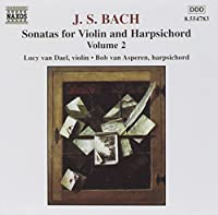 Sonatas for Violin & Harpsichord 2 by J.S. BACH (2001-02-20)