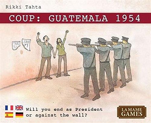 クー (Coup: Guatemala) 1954 カードゲーム
