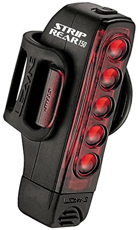 水没刻む対応するLEZYNE(レザイン) Y12 STRIP DRIVE ストリップドライブ リア用 赤色 LEDライト