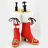 【cosplaysky】ラブライブ!サンシャイン!! コスプレ ブーツ クリスマス編 桜内梨子 ブーツ ハロウィン/変装/イベント