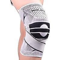膝サポーター 半月板損傷 スポーツ 登山 アウトドア 痛み 膝蓋骨固定 怪我防止 関節靭帯保護 保温 3D一体縫製 薄型 通気性 男女 左右兼用