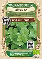 コリアンダー/パクチー/有機 種子 固定種/グリーンフィールド/ハーブ [小袋]