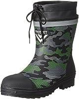 [ケイワーク] 迷彩安全ショートブーツ 先芯長靴 カバー 吸汗速乾ドライ裏地 反射材 SB20-M