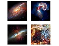 "Alonlineアート–NASA Stars Hubble Astronomy Space Galaxyキャンバスの印刷( 100%コットン、フレームなしunmounted ) 12""x12"" - 30x30cm VM-SPCS07-STK0F00-4P1A-12-12"