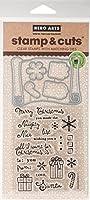 Hero Arts Stamp & Cut-Christmas List