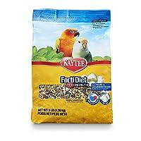 Kaytee Forti-Diet Egg-Cite! Conure & Lovebird, 3-Pound by Kaytee