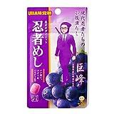 【メール便】味覚糖 旨味シゲキックス 忍者めし 巨峰 20G 20袋 (10×2)
